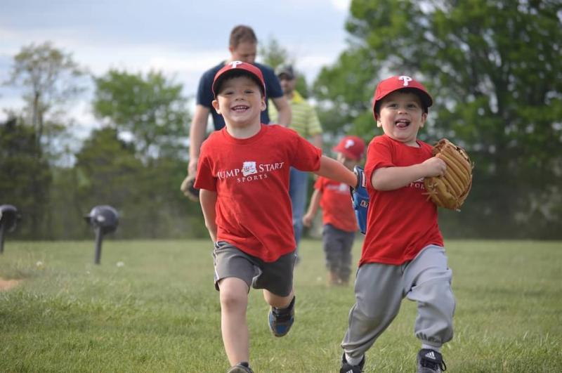 Phillies Running in T-Ball